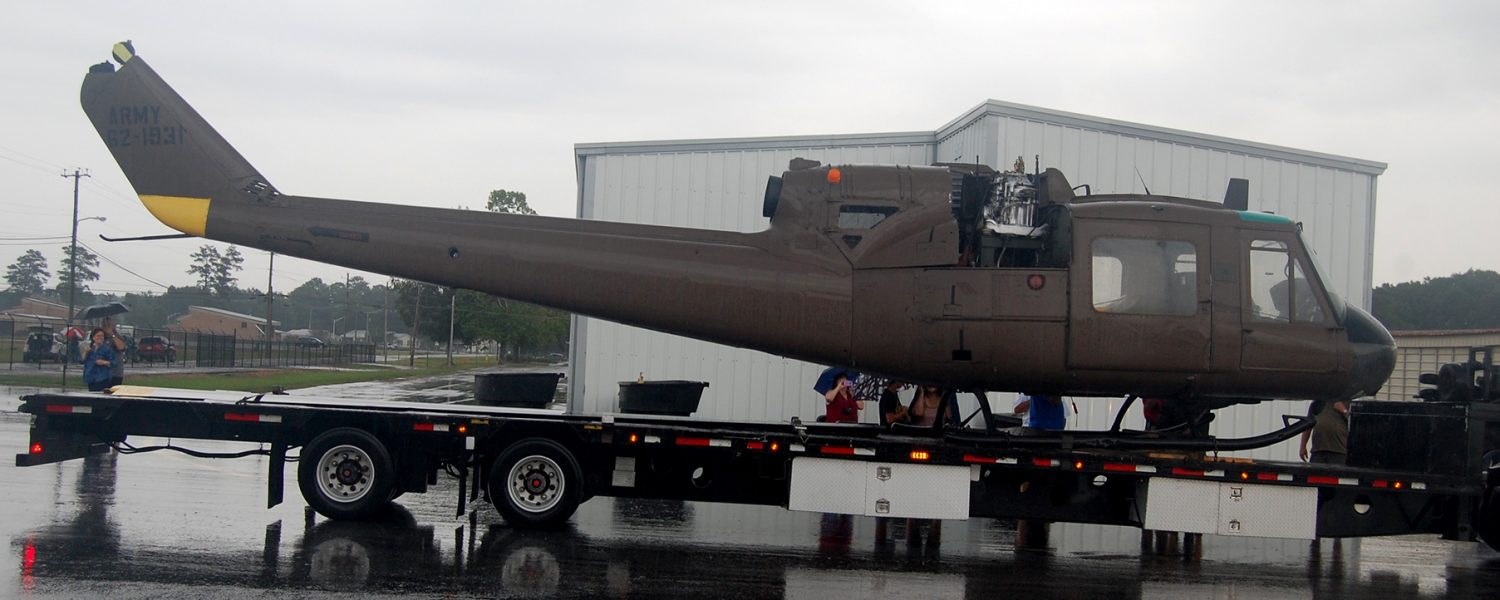 Helicopter to be displayed in Gadsden
