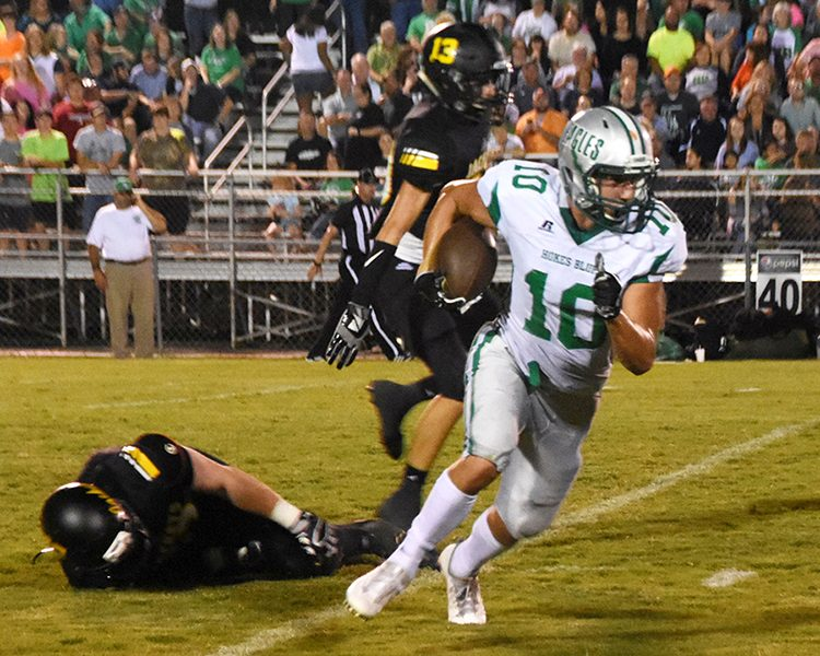 Meads leads Hokes Bluff past Glencoe, 41-21