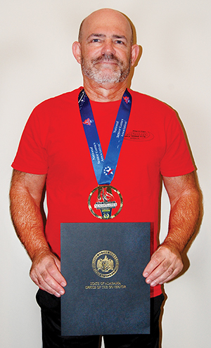 Attalla resident wins gold medal at Senior Games