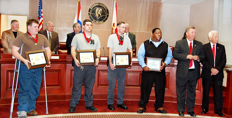 Sheriff awards Medals of Valors to deputies