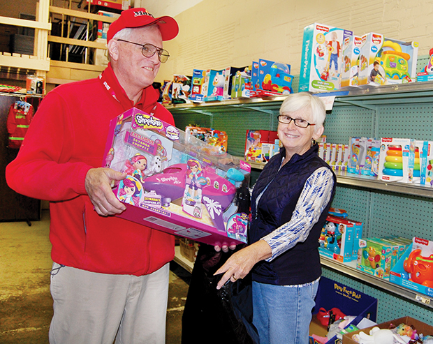 Toys for Tots to provide holiday gifts