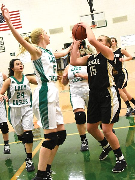 Lady Yellow Jackets edge Hokes Bluff in OT in county tournament semifinals