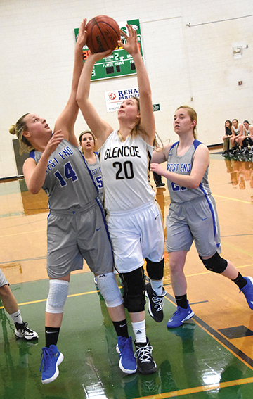 Lady Jackets sting West End in county tournament