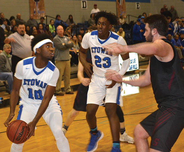 Blue Devils edge past Southside in overtime