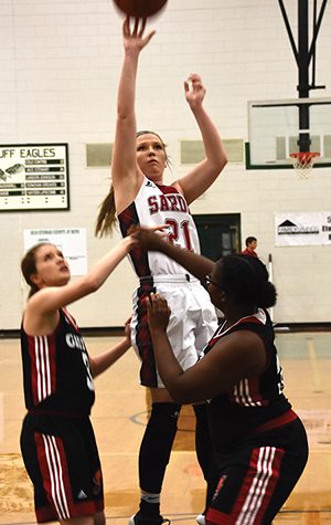 Lady Lions breeze past Gaston