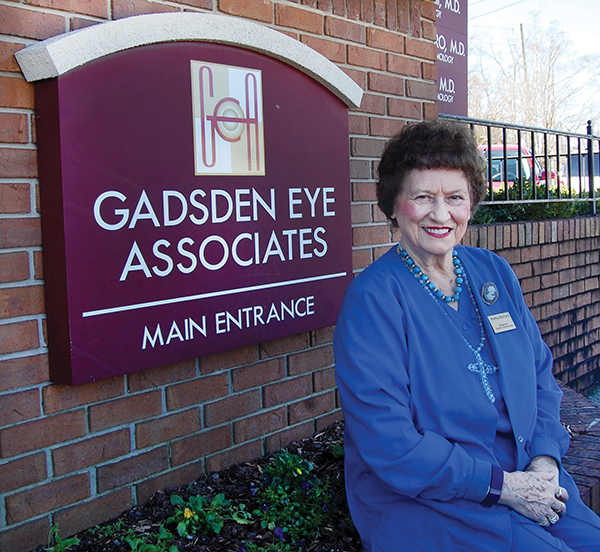 Local receptionist retires at age 80