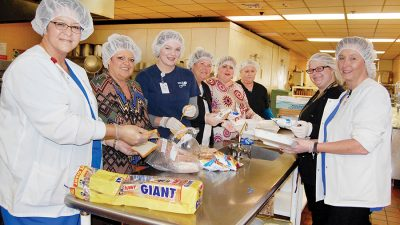 Mcguffey's provides meals for warming center