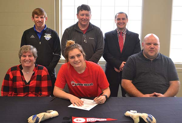 Westbrook soccer standout signs with JSU