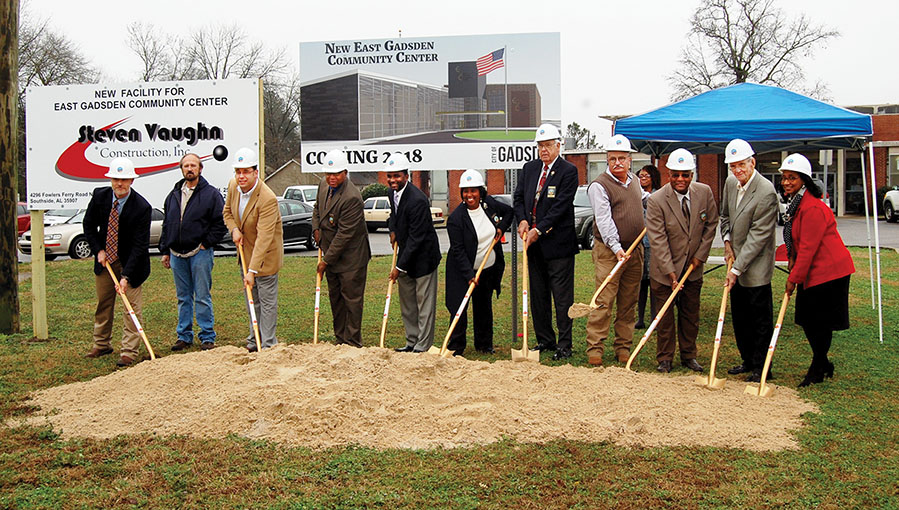 Gadsden breaks ground on new community center