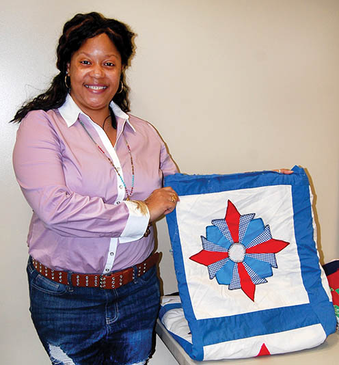 Library hosts black history month quilt lecture