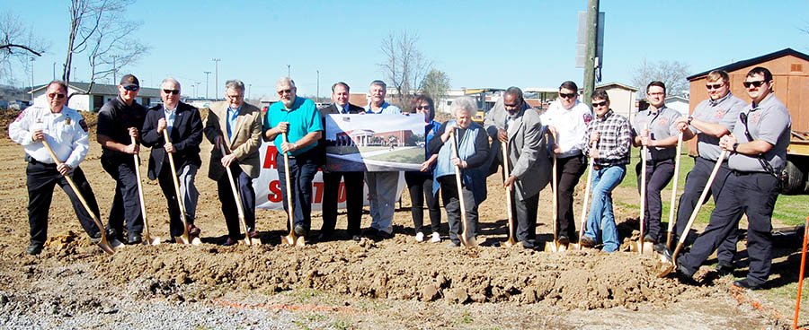 Attalla breaks ground on new fire station