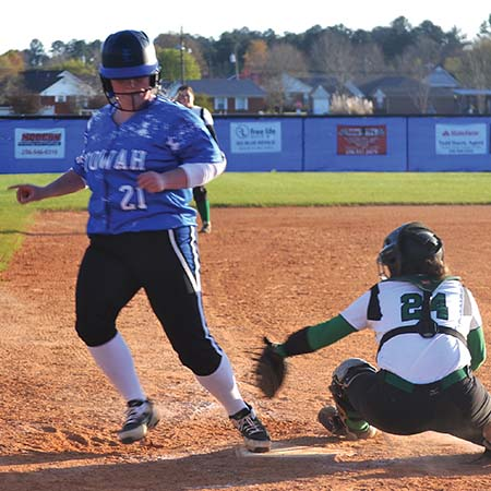 Lady Blue Devils pour it on against Ashville