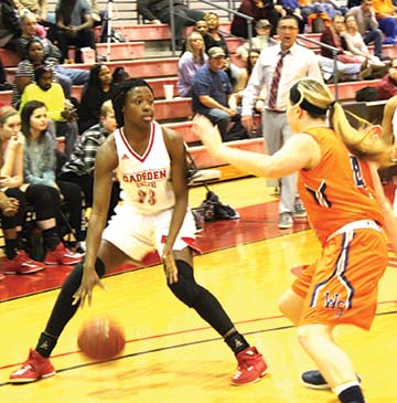 Lady Cardinals advance to conference semifinals