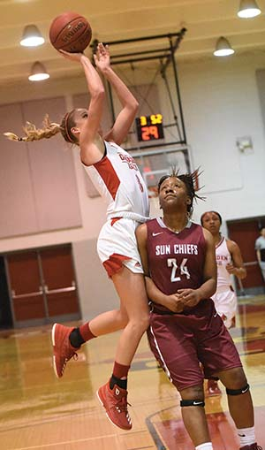 Lady Cardinals slam Coastal Alabama in ACCC Tournament play-in game