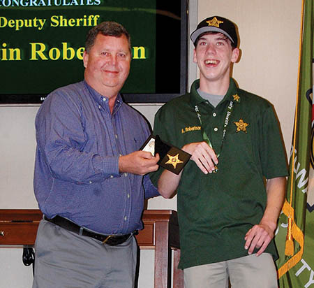 Sheriff deputizes local student