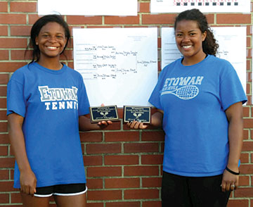 Etowah tennis players win at sectionals
