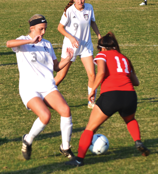 Lady Panthers edge Albertville in first round of soccer playoffs
