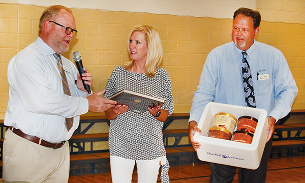 Blue Bell surprises local Teacher of the Year