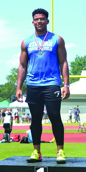 Local athletes medal at state track and field meets