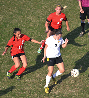 Lady Warriors edge Glencoe, fall to West Morgan in state soccer playoffs