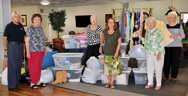 Cherry Creek residents donate items to Etowah Baptist Mission