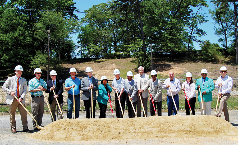 Gadsden breaks ground on Moragne Park