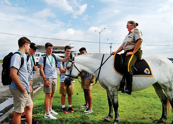 Sheriff's Office hosts Student Leadership Academy