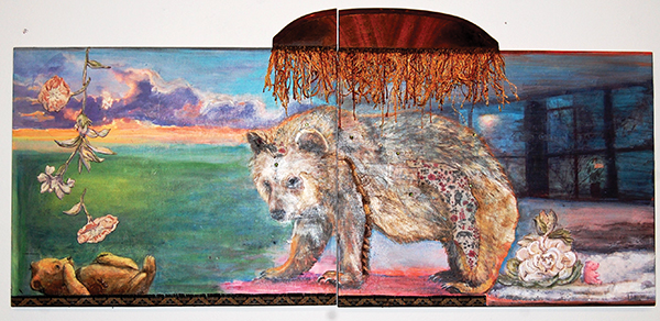 Hardin Center displays the Mitchell sisters' artwork