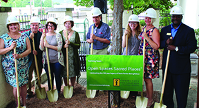 GPL breaks ground on new sensory garden