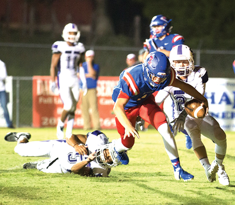Patriots drop season opener to Susan Moore