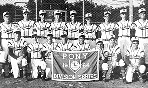 Local Pony League team finished as 1964 World Series runner-up