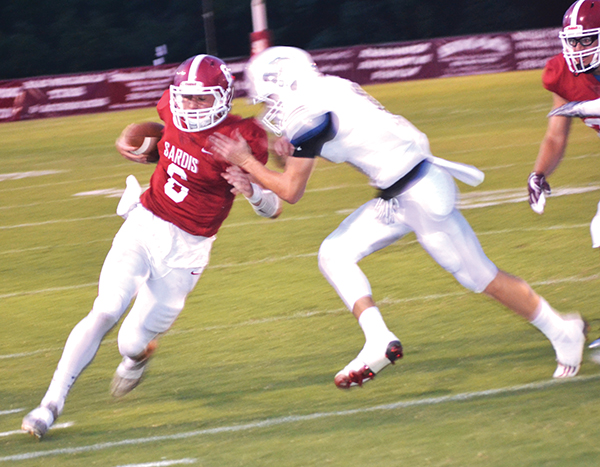 Late touchdown pulls Southside past Sardis