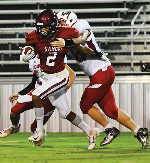 Sardis races past Douglas, 43-7