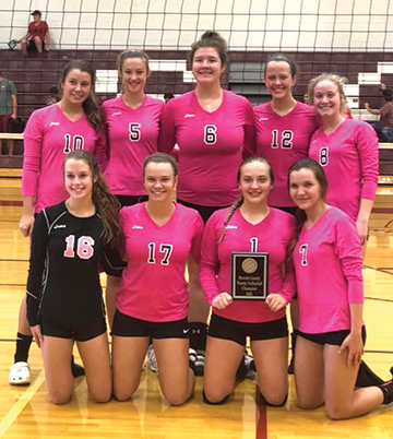 Southside wins fourth straight county volleyball title