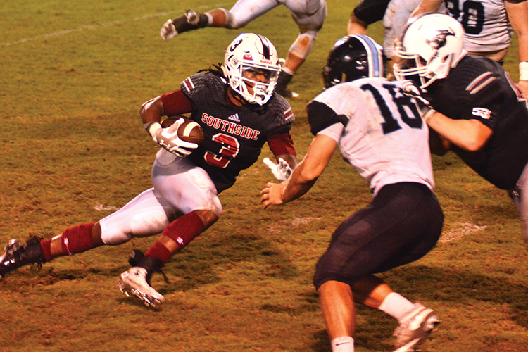 Helena gets past Southside, 13-7