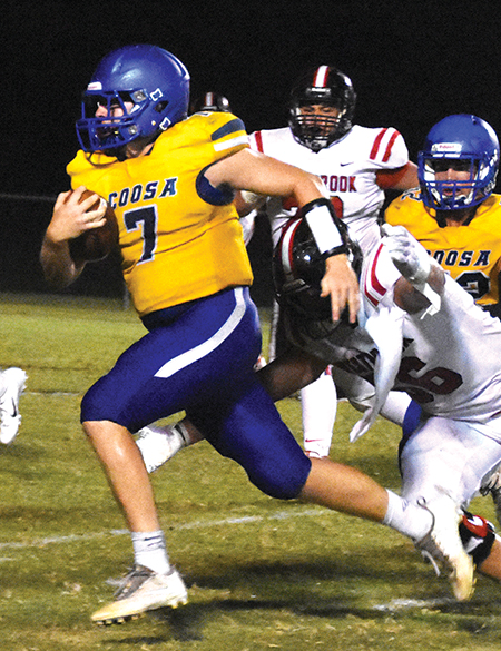 Lipscomb airs out Woodville in Conquerors' region win