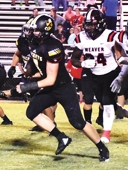 Weaver rushes past Glencoe, 42-13